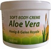 Soft-Body-Creme Aloe Vera, Honig & Gelee Royale, 500 ml