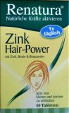 Zink Hair - Power von Renatura, 60 Tabletten